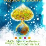 Marché de Noël équitable & solidaire les 14 & 15 novembre à Clermont l'Hérault