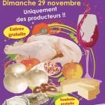 Marché gastronomique le dimanche 29 novembre à Fabrègues