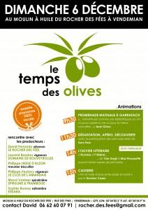 le temps des olives - Vendémian - 6 décembre 2015