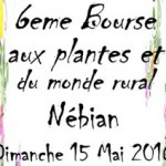 6ème Bourse aux plantes et du monde rural à Nébian
