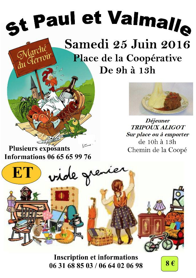 Kesara Marché du Terroir de Saint Paul et Valmalle le 25 juin 2016