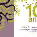 Les 10 ans du Rocher des Fées à Vendémian le 4 décembre 2016