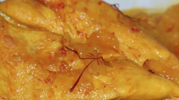 Poulet au safran