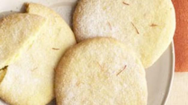 Biscuits épicés au safran