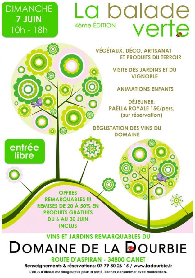 la Balade Verte de la Dourbie le dimanche 7 juin à Canet