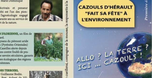 Fête de l'environnement à Cazouls d'Hérault le 4 juin 2016