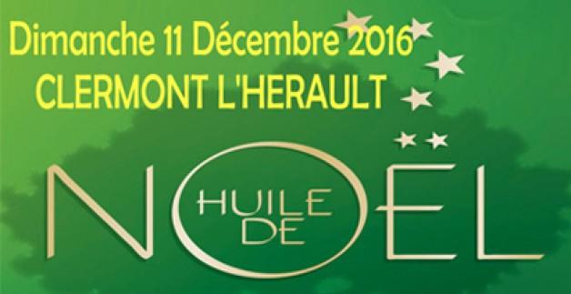 Marché de Noël de Clermont l'Hérault le 11 décembre 2016